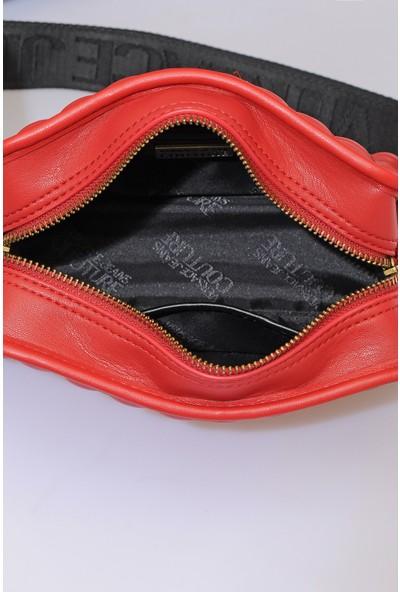 Versace J. Couture E1 Vzabq2 Kırmızı Kadın Omuz Çantası