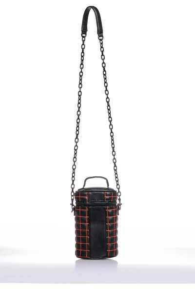 Versace J. Couture E1 Vzabq6 Siyah Kadın Omuz Çantası