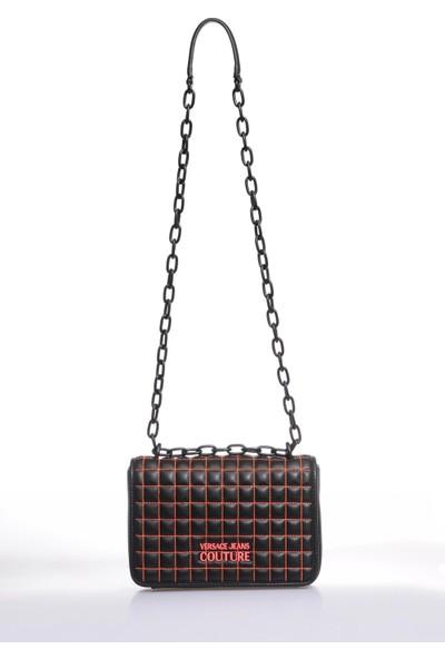 Versace J. Couture E1 Vzabq8 Siyah Kadın Omuz Çantası
