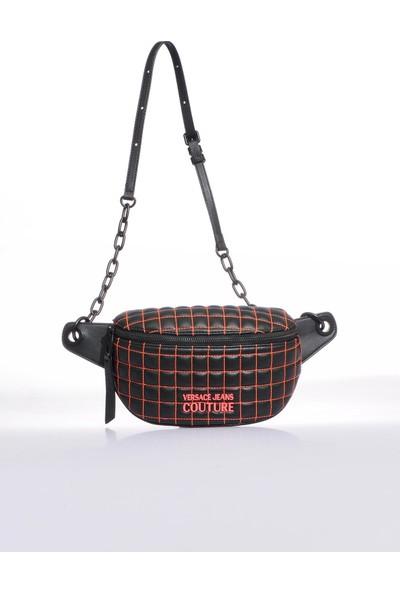 Versace J. Couture E1 Vzabq9 Siyah Renkli Kadın Bel Çantası
