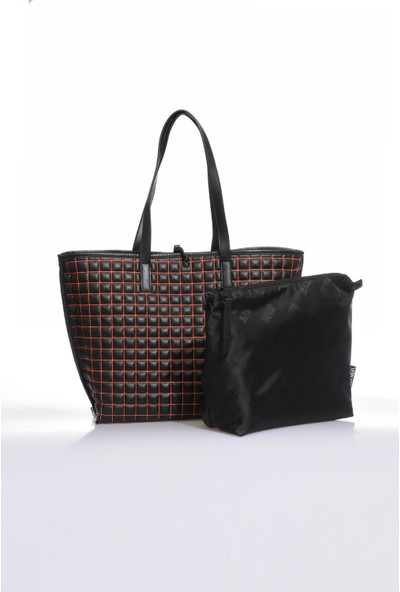Versace J. Couture E1 Vzabqa Siyah Kadın Omuz Çantası