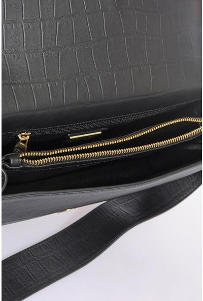 Versace J. Couture E1 Vzabs3 Siyah Kadın Omuz Çantası
