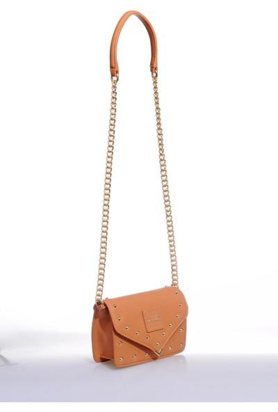 Versace J. Couture E1 Vzbbe3 Camel Kadın Omuz Çantası