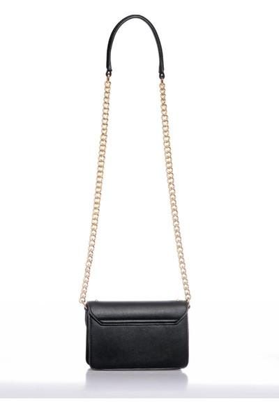 Versace J. Couture E1 Vzbbe3 Siyah Kadın Omuz Çantası