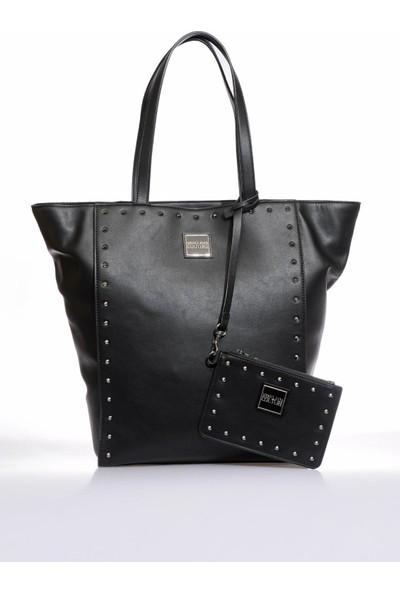 Versace J. Couture E1 Vzbbe5 Siyah Kadın Omuz Çantası