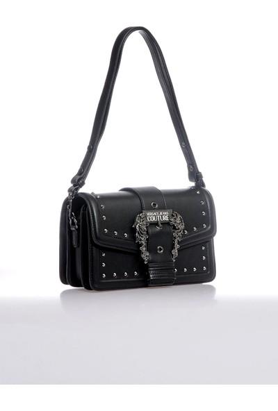 Versace J. Couture E1 Vzbbeb Siyah Kadın Omuz Çantası