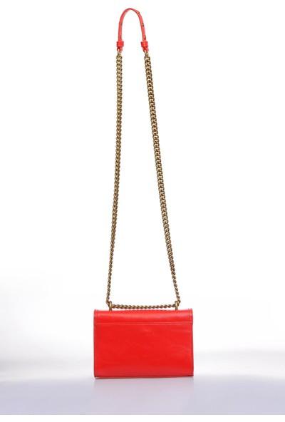 Versace J. Couture E1 Vzbbk1 Kırmızı Kadın Omuz Çantası