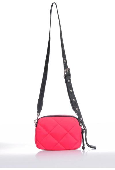 Versace J. Couture E1 Vzbbl1 Pembe Kadın Omuz Çantası