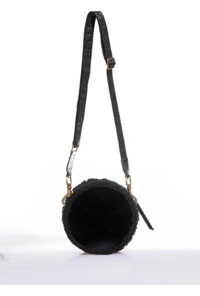 Versace J. Couture E1 Vzbbm4 Siyah Kadın Omuz Çantası