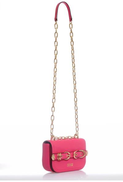 Versace J. Couture E1 Vzbbn2 Pembe Kadın Omuz Çantası