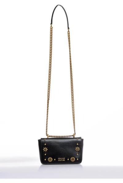 Versace J. Couture E1 Vzbbo1 Siyah Kadın Omuz Çantası