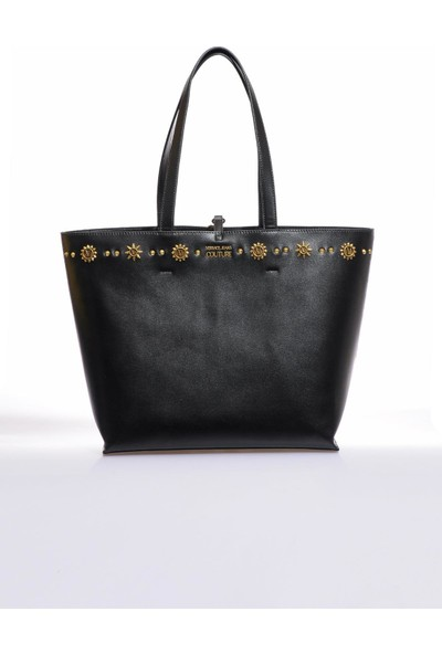 Versace J. Couture E1 Vzbbo4 Siyah Kadın Omuz Çantası