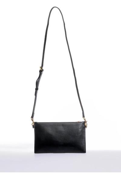 Versace J. Couture E1 Vzbbox Siyah Kadın Omuz Çantası