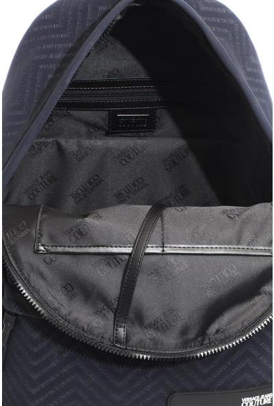 Versace J. Couture E1 YZAB90 Lacivert Kadın Sırt Çantası
