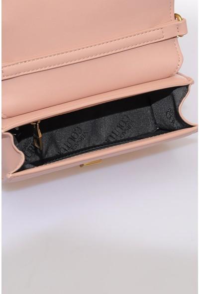 Versace J.couture E1 Vzbbe3 Pembe Kadın Omuz Çantası