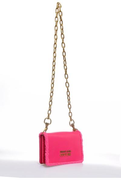 Versace J.couture E1 Vzbbm2 Pembe Kadın Omuz Çantası