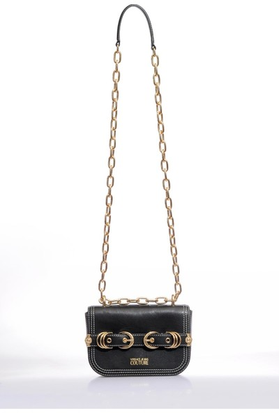 Versace J.couture E1 Vzbbn2 Siyah Kadın Omuz Çantası