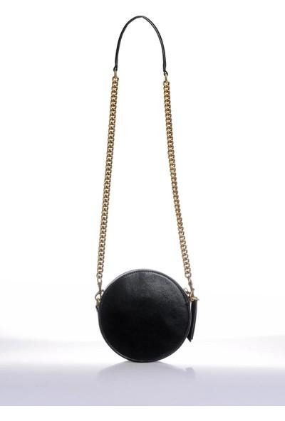 Versace J.couture E1 Vzbbo3 Siyah Kadın Omuz Çantası