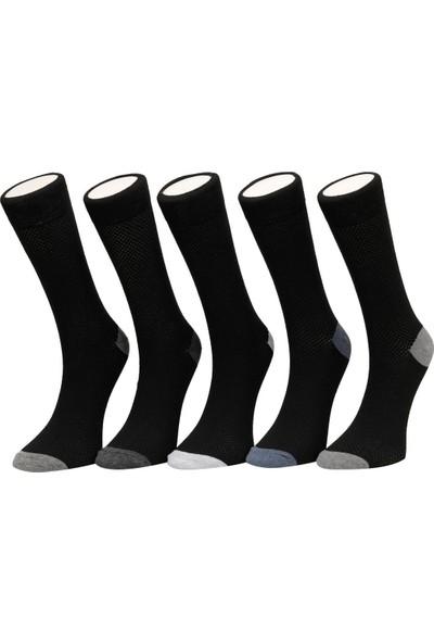 Garamond Mesh 5'li Skt-M Siyah Erkek Soket Çorap