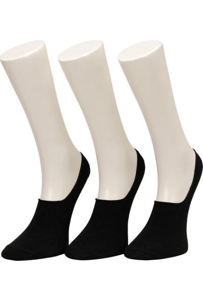 Garamond Kapalı 3'lü Suba-M Siyah Erkek Çorap