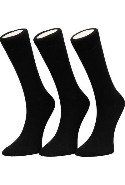 Garamond Basic 3'lü Skt-M Siyah Erkek Soket Çorap