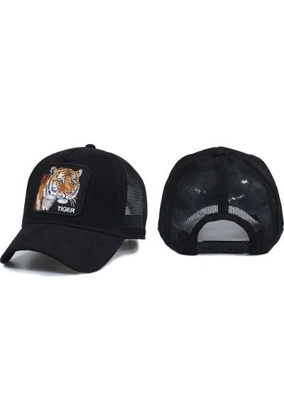 Goorin Hayvan Desenli Şapka Siyah Kaplan Koyu