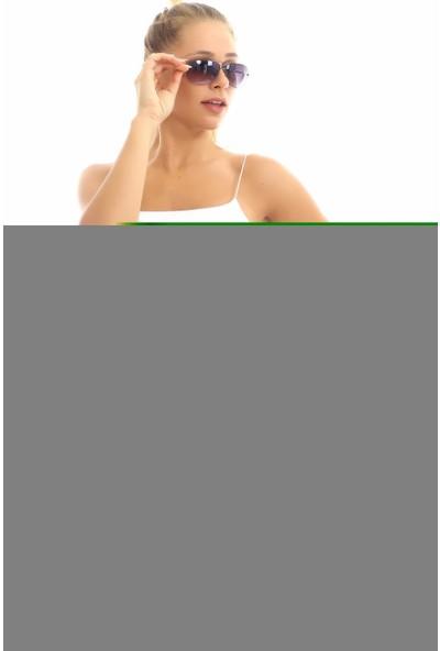 Cotton Mood 20064507 Örme Krep Cepli Bağlamalı Beli Lastikli Şort Çağla Yeşil