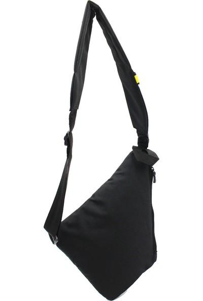 Byhakan Gk11 Çapraz Askılı Göğüs Ve Sırt Çantası Body Bag Çanta Siyah-Sarı