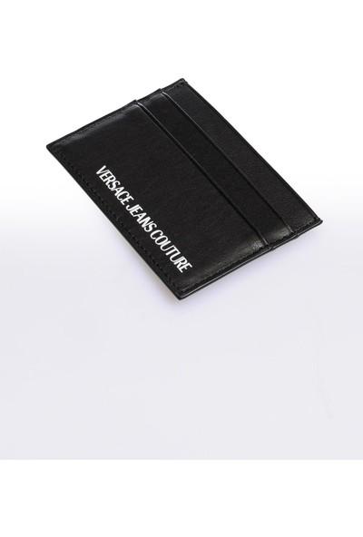 Versace J. Couture E3 Yzapa8 Siyah Yazılı Erkek Cüzdan