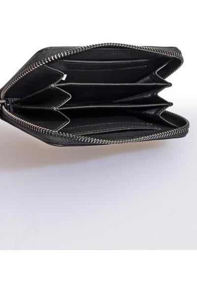 Versace J. Couture E3 Yzbpd6 Siyah Yazılı Erkek Cüzdan