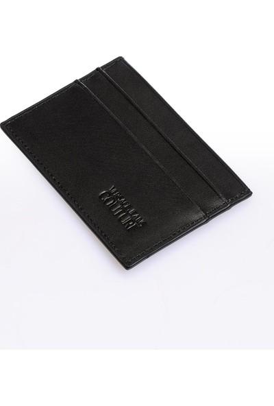 Versace J. Couture E3 Yzbpd8 Siyah Yazılı Erkek Cüzdan