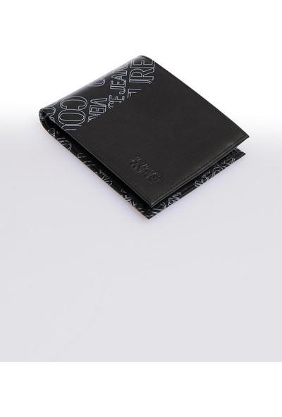 Versace J. Couture E3 Yzbpe1 Siyah Erkek Cüzdan