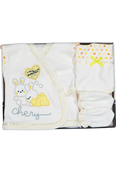 AlpCollection Tavşan Hastane Çıkışı Erkek Bebek 5'li Set