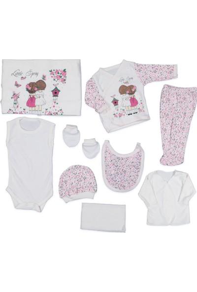 AlpCollection Spring 10'lu Kız Bebek Hastane Çıkış Seti