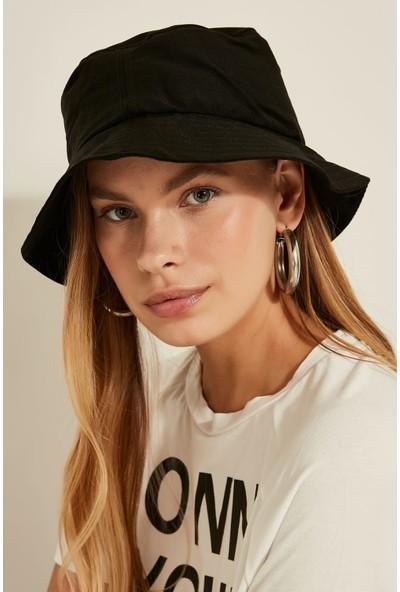 Combin Accessory Siyah Renk Fötr Şapka