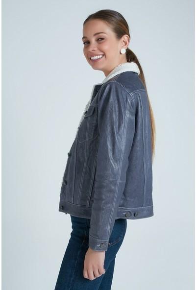 Derimod Western Kadın Deri Ceket