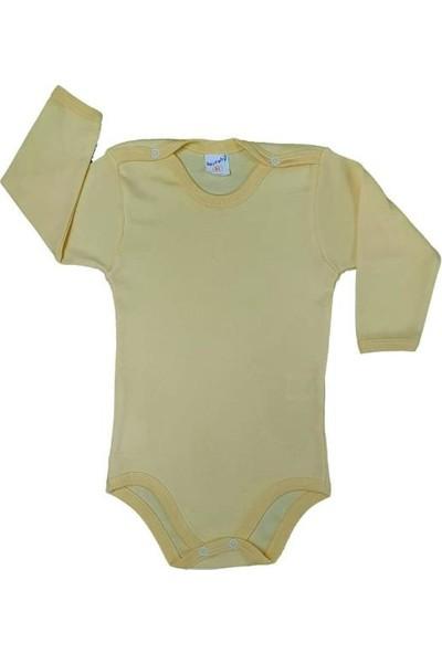 Bertobi Kız ve Erkek Bebek Uzun Kollu Zıbın