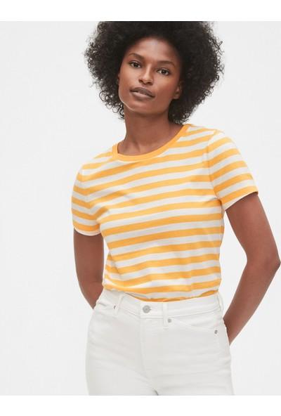 Gap Kadın Çizgili T-Shirt