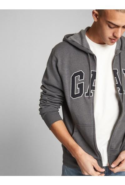 Gap Erkek Logo Kapüşonlu Sweatshirt