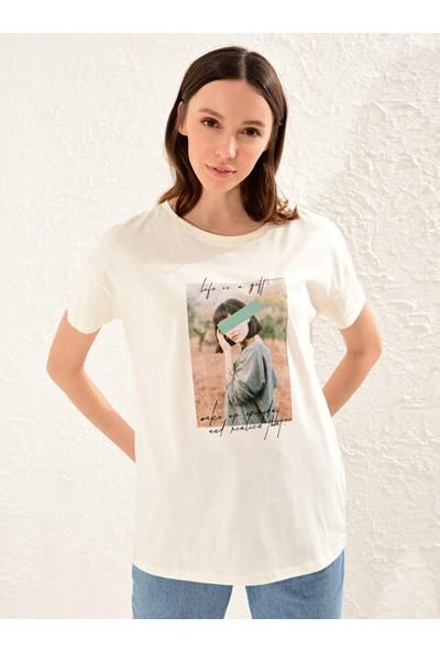 LC Waikiki Kadın Günlük T-Shirt