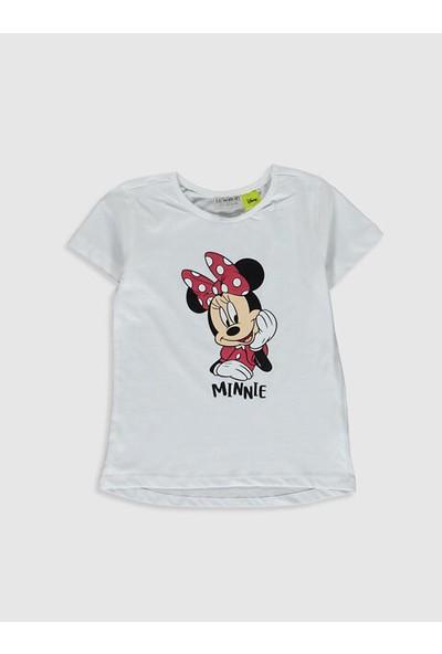 LC Waikiki Minnie Mouse Kız Çocuk T-Shirt