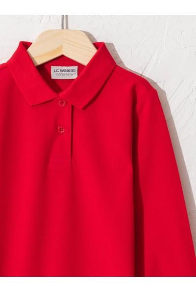 LC Waikiki Kız Çocuk Polo Yaka T-Shirt