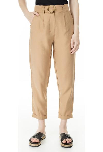 İkoll Kemer Detaylı Kadın Pantolon 52621809