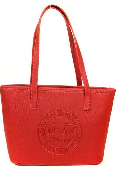 19V69 Italia 1981 Kırmızı Kadın El Çantası