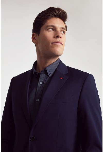D's Damat Slim Fit Erkek Takım Elbise