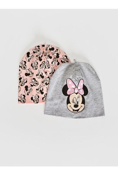 LC Waikiki Mickey Mouse Kız Bebek Bere