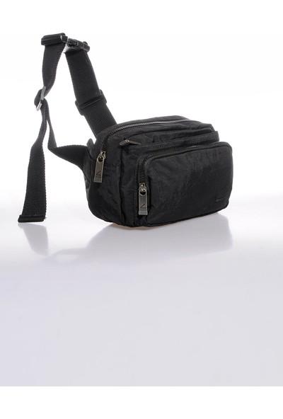 CTV8604-0001 Siyah Erkek Bel Çantası