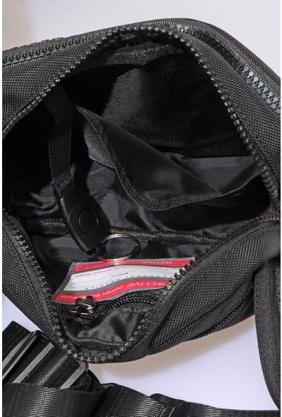 CTV8611-0001 Siyah Erkek Bel Çantası