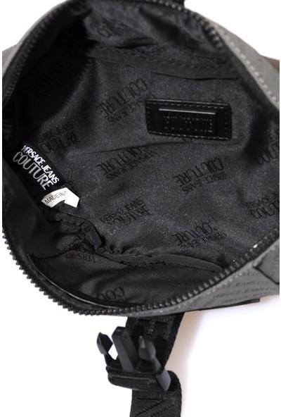 Versace J. Couture E1 YZAB96 Gri Erkek Bel Çantası