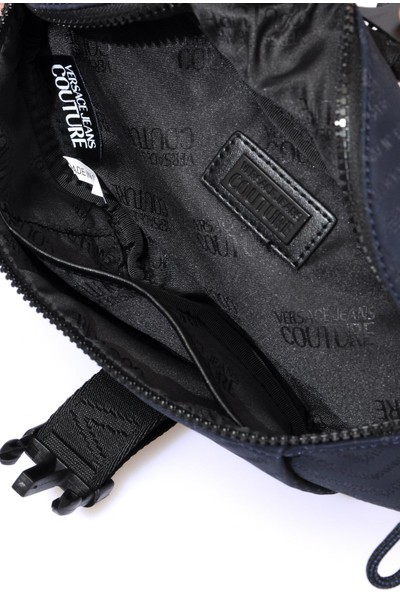 Versace J. Couture E1 YZAB96 Lacivert Erkek Bel Çantası